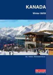 Winter 08/09 - SK Touristik
