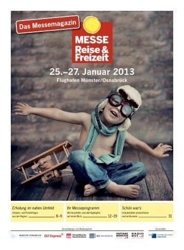 Messemagazin - Messe Reise und Freizeit 2013