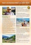 Ranch- und Abenteuer-Urlaub - Argus Reisen - Seite 4