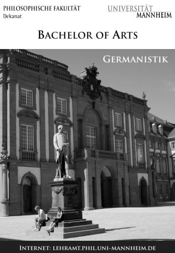 Germanistik - Bachelor - Universität Mannheim