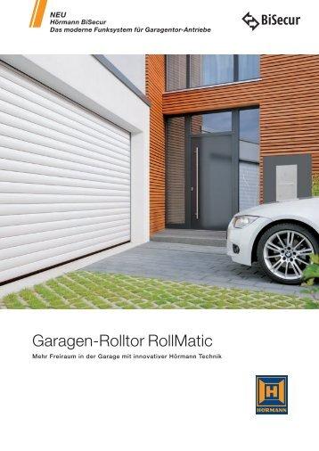 garagen rolltor rollmatic h rmann kg. Black Bedroom Furniture Sets. Home Design Ideas