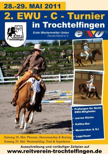 2. EWU - C - Turnier - Reit und Fahrverein Trochtelfingen
