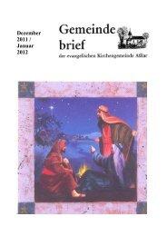 Dezember 2011 / Januar 2012 - Evangelische Kirche Asslar