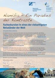 Namibia – Ein Paradies der Kontraste - eazf