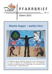 Wache Augen – weites Herz - Kirchen - Capelle, Südkirchen ...