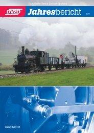 Download «DVZO Jahresbericht 2011 - Dampfbahn-Verein Zürcher ...