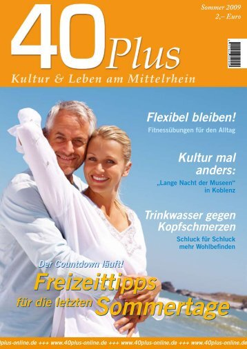 Sommertage - 40plus online