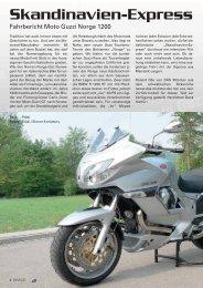 Moto Guzzi Norge 1200 - Kultourbikes.de