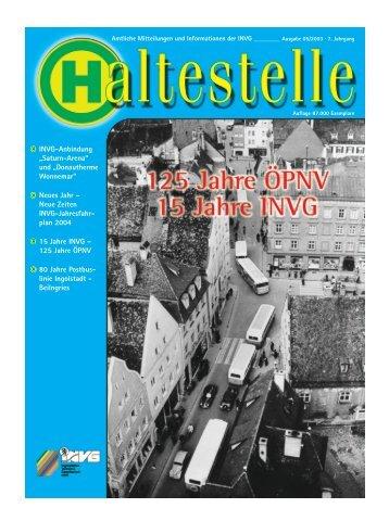 Haltestelle 05/03 - INVG - Ingolstädter Verkehrsgesellschaft mbH ...