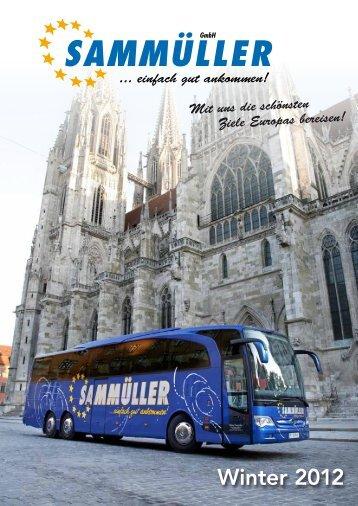 Winter 2012 - Sammüller GmbH