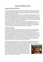 Reisebericht Südafrika Juni 2012 - Pacific Wine Company