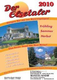 Städtereisen - Der Elsetaler