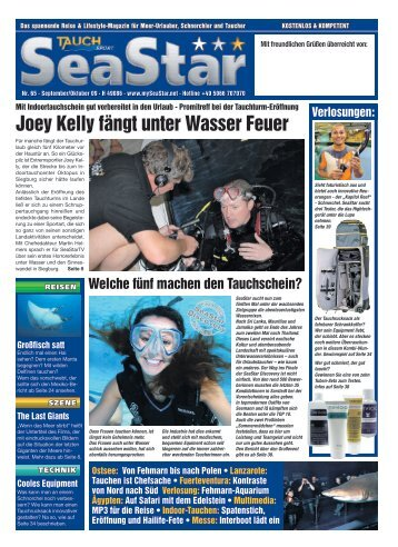 Joey Kelly fängt unter Wasser Feuer - call-metics