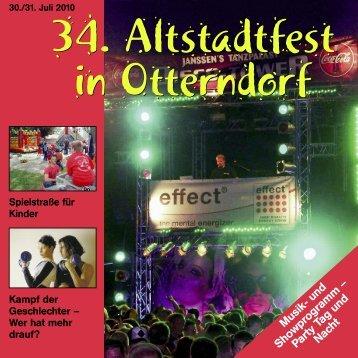 Altstadtfest 2010 - Otterndorf
