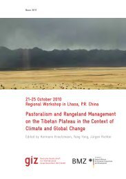 Pastoralism and Rangeland Management on the Tibetan Plateau in ...