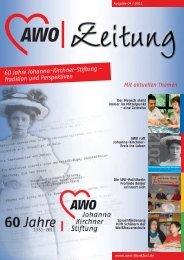 60 Jahre Johanna-Kirchner-Stiftung - Tradition und ... - AWO Frankfurt