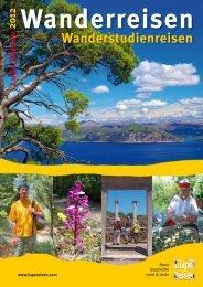 Katalog Gruppenreisen 2012 - Lupe Reisen