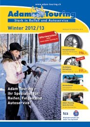 Winter 2012 / 13 - Adam Touring Gmbh
