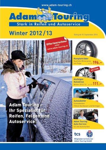 Winter 2012 / 13 - Adam Touring Gmbh