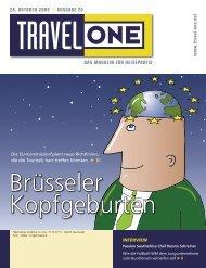 DAS MAGAZIN FÜR REISEPROFIS 28. OKTOBER ... - Travel-One