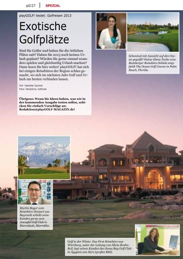 Exotische Golfplätze - Soma Bay