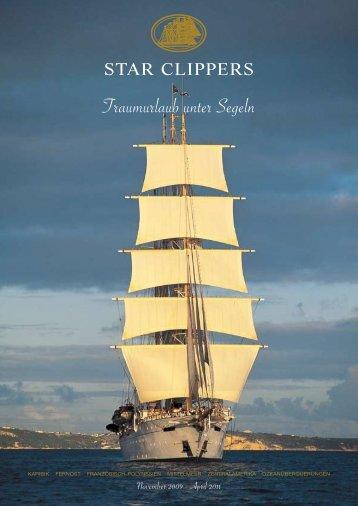Traumurlaub unter Segeln - Terra Schiffsreisen