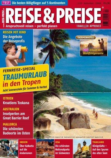 TRAUMURLAUB - Reise-Preise.de
