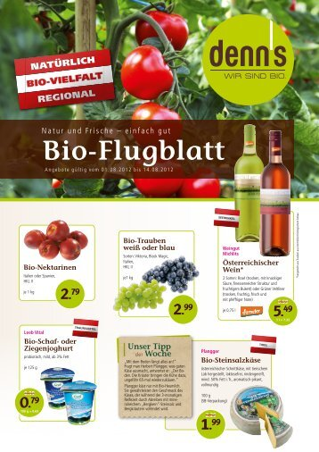 Bio-Flugblatt