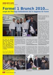 Formel 1 Brunch 2010… - Michael Reiss