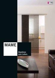 MAME Glastüren zum Lebe - Glas Pichl GmbH