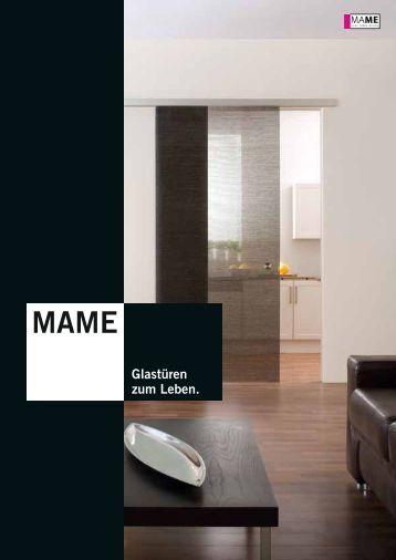 mame glast ren und glasschiebet ren katalog glas pichl gmbh. Black Bedroom Furniture Sets. Home Design Ideas