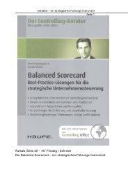 Aufsatz Seite 25 – 45: Friedag / Schmidt Die Balanced Scorecard ...