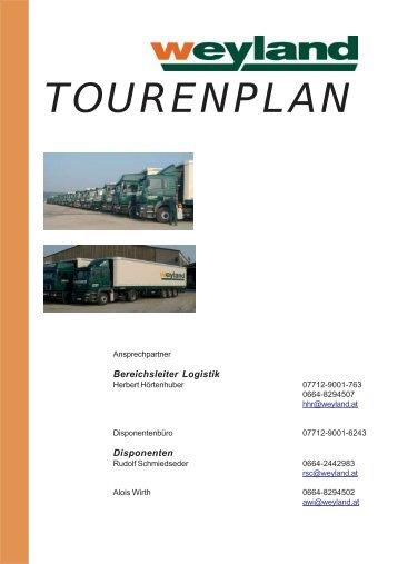 TOURENPLAN