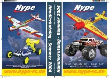 RC-Cars • Flugmodelle • Servos • Kreisel • Regler ... - Hype