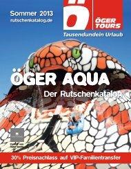Sommer 2013 - Öger Tours