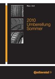 2010 Umbereifung Sommer - Motor-Talk