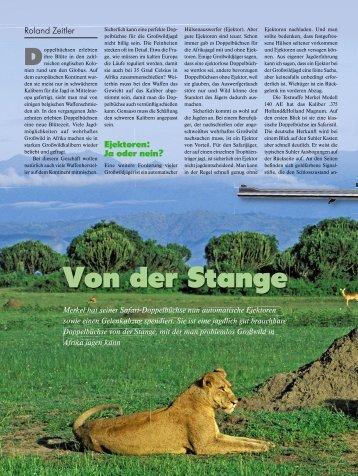 Von der Stange - Jagen Weltweit