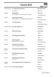 Termine 2012 - ADAC Ortsclub-Portal