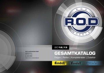 GESAMTKATALOG - ROD Leichtmetallräder GmbH