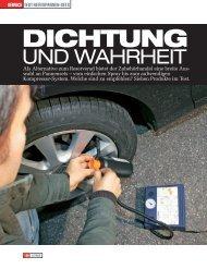 Dichtung und Wahrheit Auto Motor Sport - PREMIUM-SEAL Repair ...