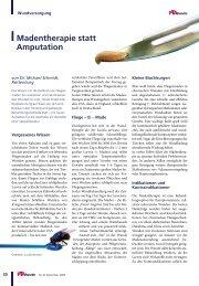 .Madentherapie statt Amputation - Werner Sellmer