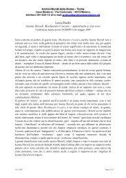 Laura Boella Jeanne Hersch, Rischiarare l'oscuro ... - AARDT