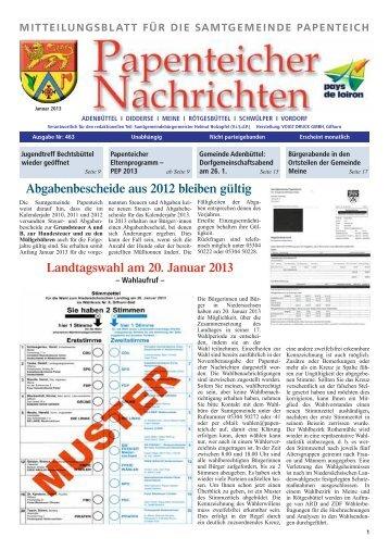 meine - Samtgemeinde Papenteich
