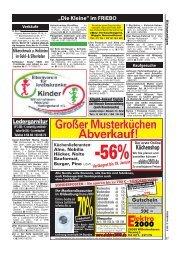 50€ WS Großer Musterküchen Abverkauf! - Friesländer Bote