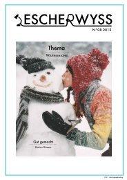 Gut gemacht N°08 2012 - Kaufmännische Verband Zürich