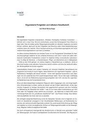 Organisierte Freigeister und säkulare Gesellschaft 1 - fowid