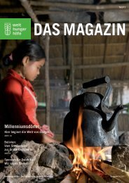 Millenniumsdörfer: - Welthungerhilfe