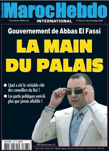 Gouvernement de Abbas El Fassi - Maroc Hebdo International