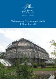 Marktbericht Wohnimmobilien 2012 - Schnoor Immobilien