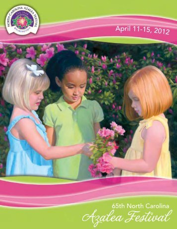 2012 Souvenir Book - North Carolina Azalea Festival